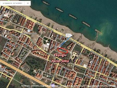 Ekşioğlu Akcan Sitesi - Konum - Karasu Ekşioğlu İnşaat Karasu Satılık Yazlık Daire ve Dubleksler